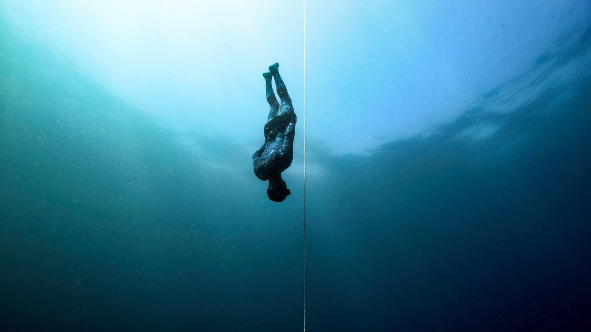 ocean freediving